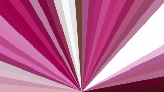 Abstract Pink and White Radial Background