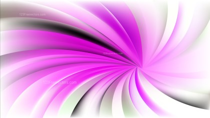 Pink and White Spiral Rays Background