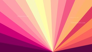 Pink and Yellow Radial Background Design