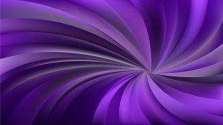 Abstract Purple and Black Swirling Radial Background