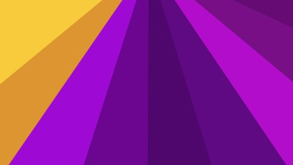Abstract Purple and Orange Radial Stripes Background Vector Graphic