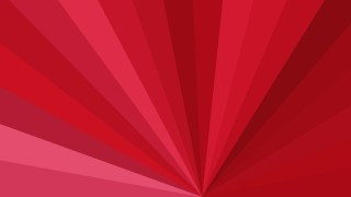 Red Radial Stripes Background