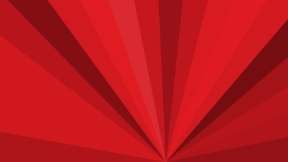 Red Radial Stripes Background Vector Graphic