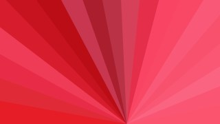 Red Radial Burst Background