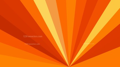 Abstract Red and Orange Rays Background Illustration