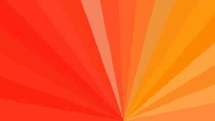 Abstract Red and Orange Radial Background Design