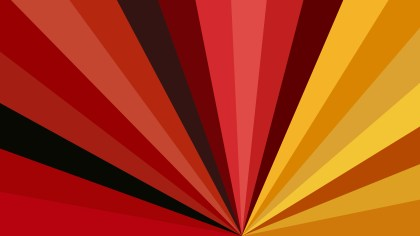Abstract Red and Orange Rays Background