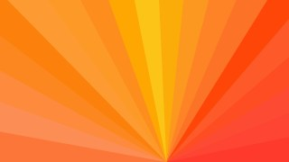 Red and Orange Radial Background