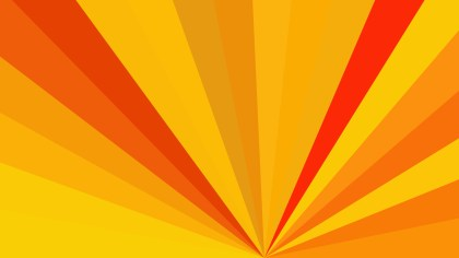 Red and Orange Radial Stripes Background Vector Graphic