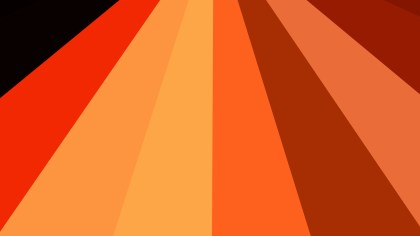 Abstract Red and Orange Radial Burst Background Image