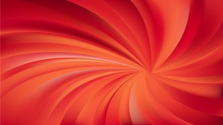 Abstract Red and Orange Spiral Background Image