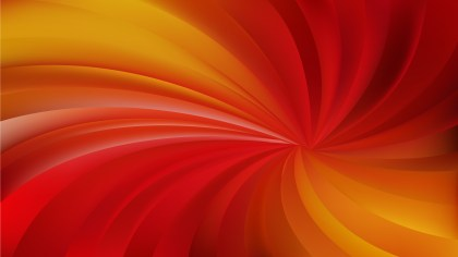Abstract Red and Orange Radial Spiral Rays background Illustrator