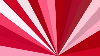 Red and White Radial Background