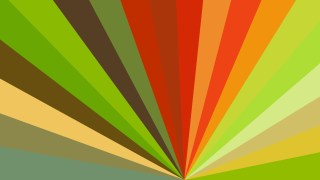 Red Green and Orange Radial Burst Background Image
