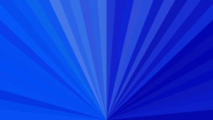 Abstract Royal Blue Burst Background Graphic