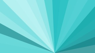 Abstract Turquoise Rays Background