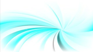 Turquoise and White Spiral Background