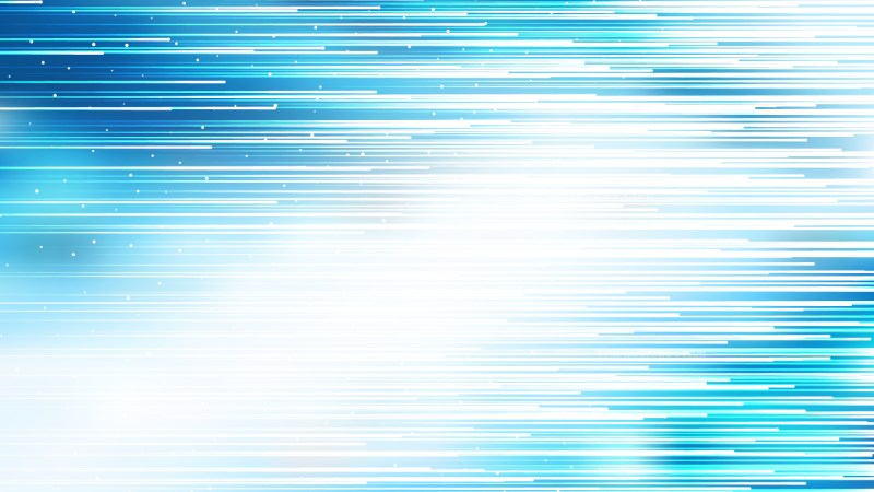 Abstract Blue and White Horizontal Lines Background Vector Image