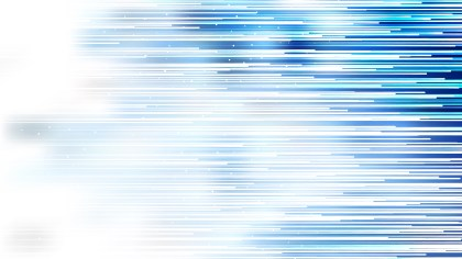 Abstract Blue and White Horizontal Lines Background Vector Art