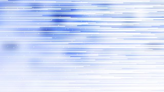 Blue and White Abstract Horizontal Lines Background Graphic