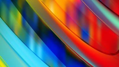 Abstract Colorful Diagonal Background Vector Graphic