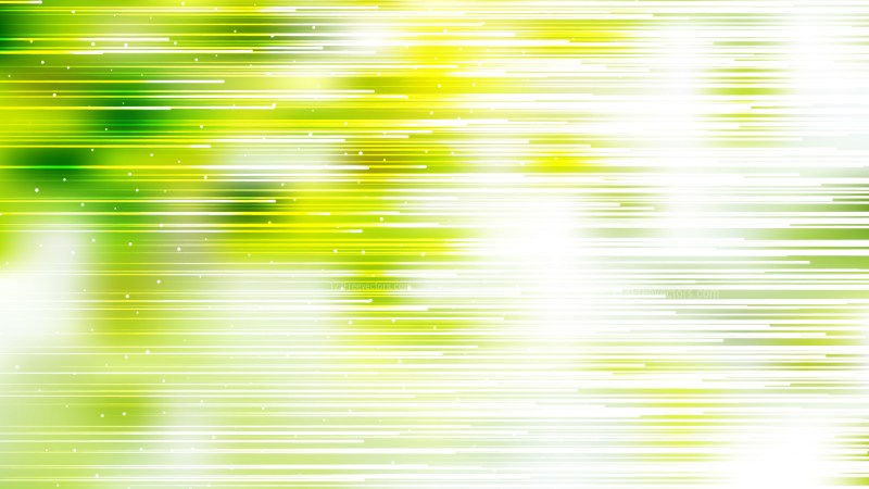 Abstract Green Yellow and White Horizontal Lines Background Vector Image