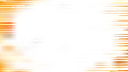 Orange and White Abstract Horizontal Lines Background