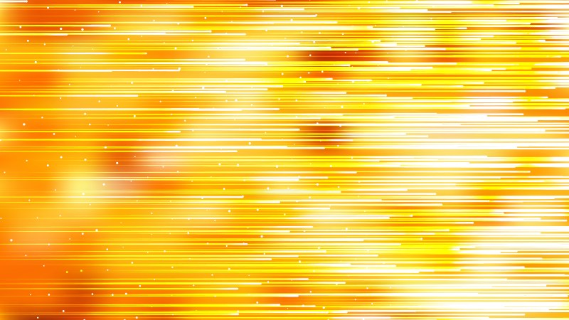 Abstract Orange Yellow and White Horizontal Lines Background Vector Art
