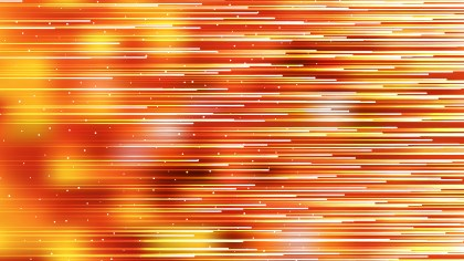 Red and Orange Abstract Horizontal Lines Background Vector Graphic