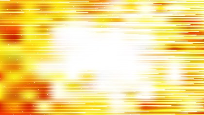 Abstract Red White and Yellow Horizontal Lines Background Vector Illustration
