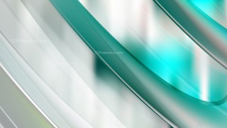 Turquoise and White Diagonal Background Vector Graphic