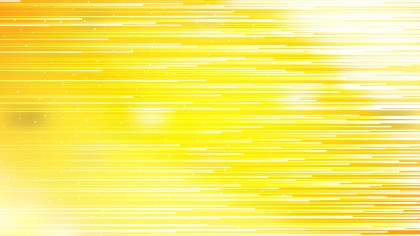 Yellow and White Abstract Horizontal Lines Background Illustrator