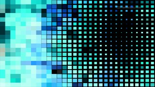 Black and Blue Square Mosaic Background
