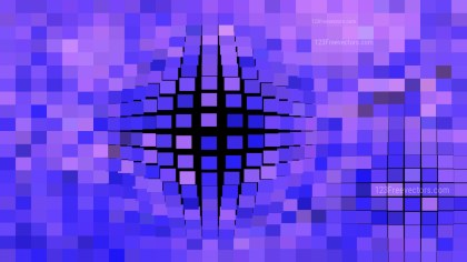 Black Blue and Purple Square Mosaic Background Vector Graphic