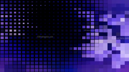 Black Blue and Purple Square Mosaic Tile Background Vector Image