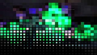 Abstract Black Purple and Green Square Mosaic Tile Background Image