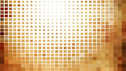 Abstract Brown and White Square Mosaic Background