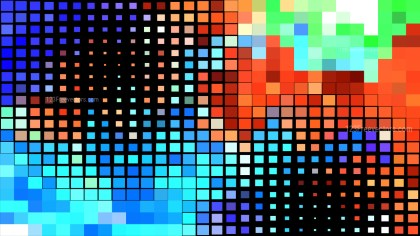 Cool Square Mosaic Background