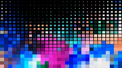 Cool Square Mosaic Tile Background