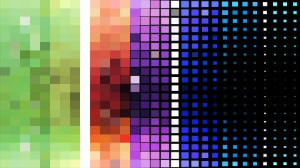 Cool Geometric Mosaic Square Background