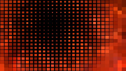 Abstract Cool Red Square Mosaic Tile Background