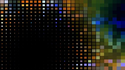 Abstract Dark Color Geometric Mosaic Square Background Vector
