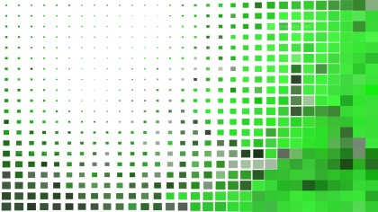 Abstract Green and White Square Mosaic Background Vector Graphic
