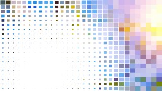 Light Color Geometric Mosaic Square Background