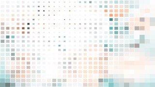 Abstract Light Color Square Mosaic Background