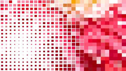 Abstract Pink and White Square Mosaic Background Vector