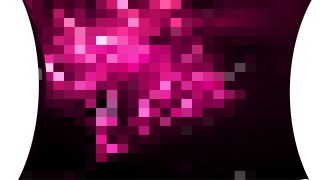 Abstract Pink Black and White Square Mosaic Tile Background