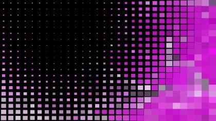 Purple and Black Geometric Mosaic Square Background Illustrator