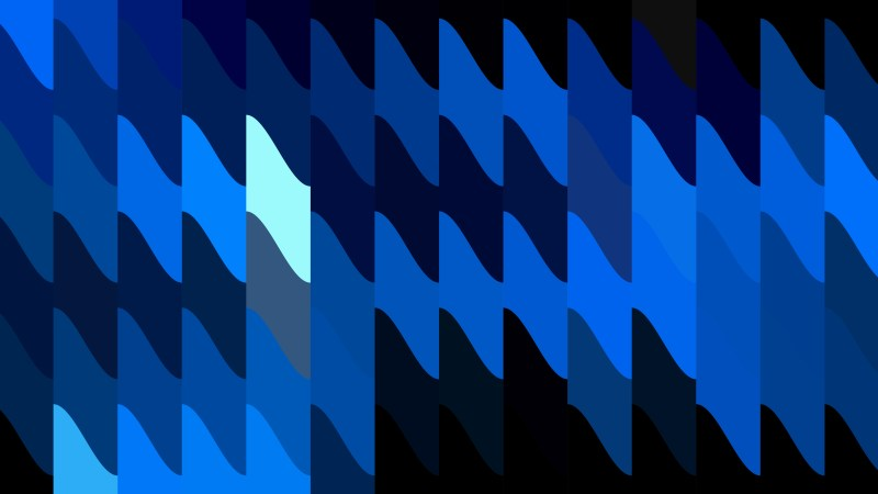 Abstract Black and Blue Geometric Shapes Background