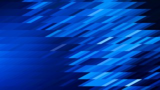 Abstract Black and Blue Geometric Shapes Background Design